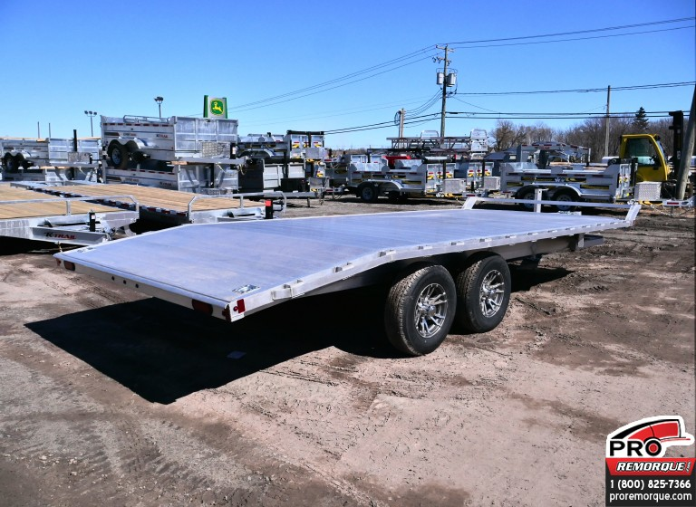 Plate-forme Mission Trailers DECK OVER 101 x 20 TAG ALONG
