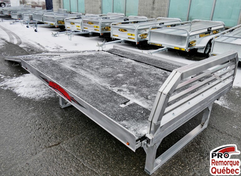 Remorque pour motoneige Mission Trailers Sport Sled Deck Plus Double