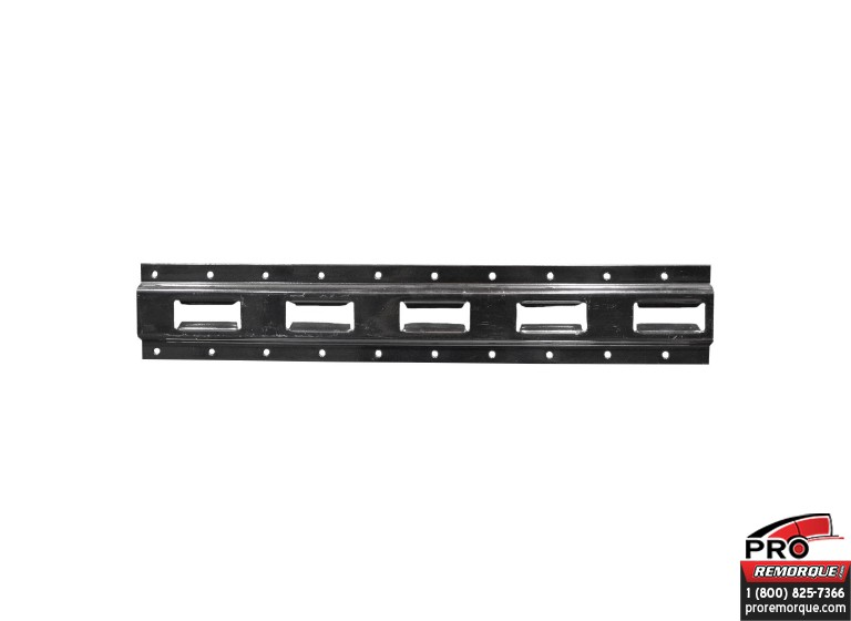 VE104N RAIL VERTICAL SERIE E 2,5 MM X 10' NOIRE