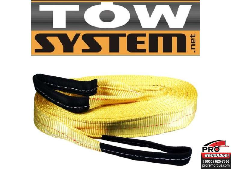 "TOW SYSTEM 10152 SANGLE DE REM.2""X20'CAP20.000L"
