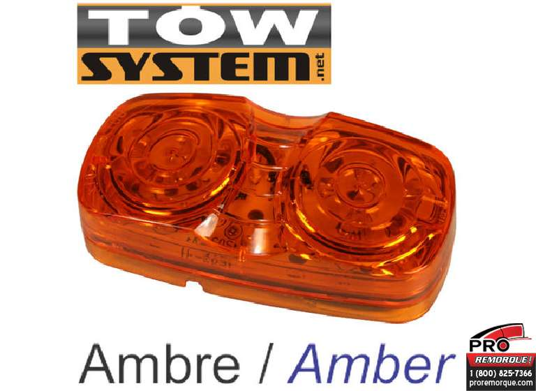 TOW SYSTEM 103A LUMIERE LED JAUNE