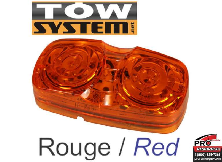 TOW SYSTEM 103R LUMIERE LED ROUGE