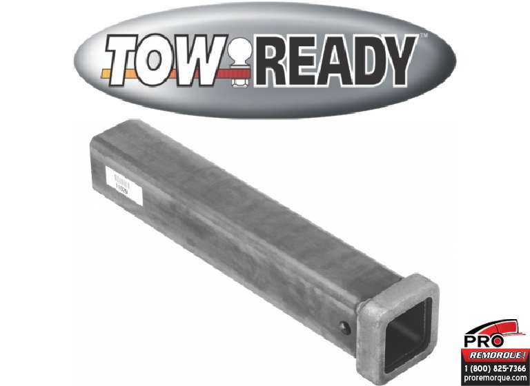 "CEQUENT TOWING 11029 TUBE 2 1/2"" x18"", HIDDEN HITCH"