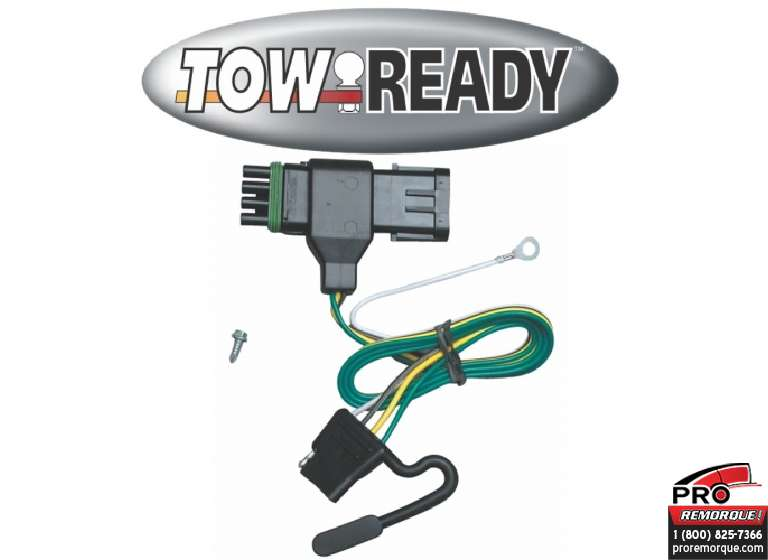 CEQUENT TOWING 118315 T-CONNECTEUR, GMC P.U. 88-00