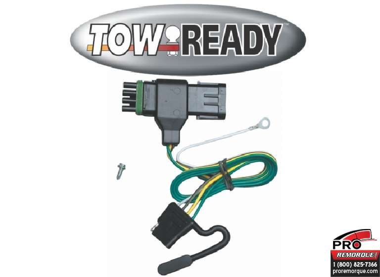 CEQUENT TOWING 118319 T-CONNECTEUR, GMC P.U. 92-00