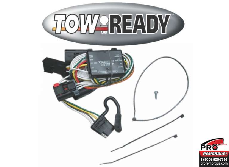 CEQUENT TOWING 118334 T-CONNECTEUR, DODGE 1996-2003