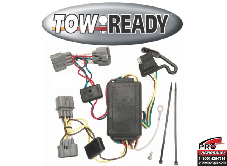 CEQUENT TOWING 118400 T-CONNEC.HONDA RIDGELINE 06-14