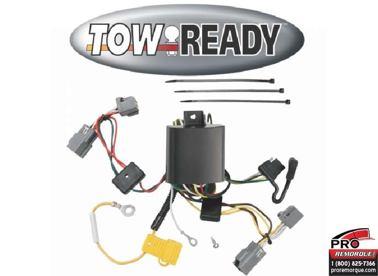 CEQUENT TOWING 118411 T-CONNECTEUR XC90  2005-2014