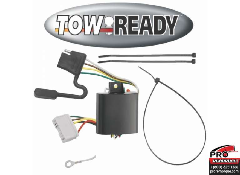 CEQUENT TOWING 118424 T-CONNECTEUR, MDX 2007-2013