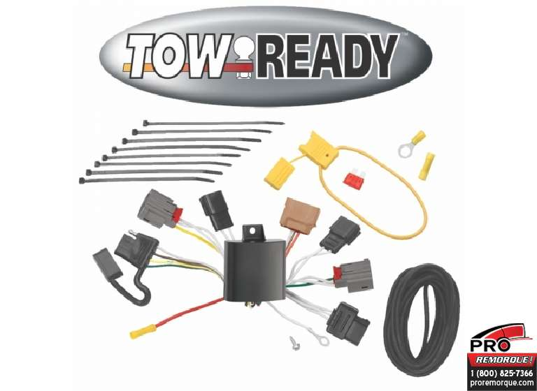CEQUENT TOWING 118483 T-CONN, MAZDA 6, 4DOOR 2009-13
