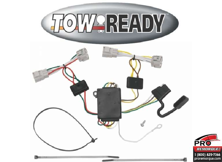 CEQUENT TOWING 118496 T-CONECTEUR, TACOMA 2005-2015