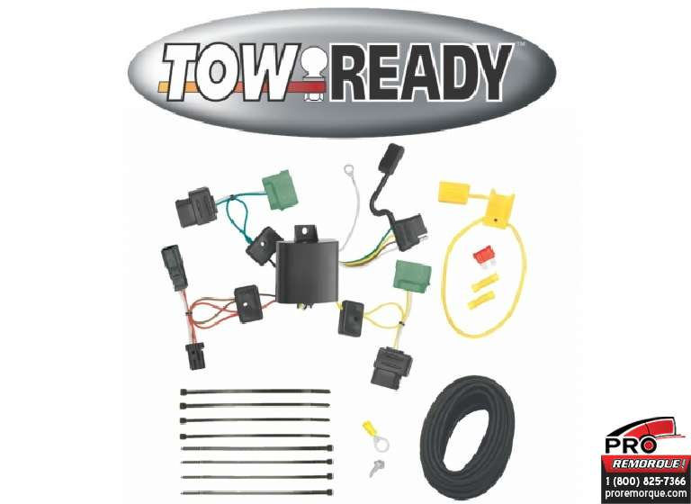 CEQUENT TOWING 118502 T-CONNECTEUR LINCOLN MKZ 06-11