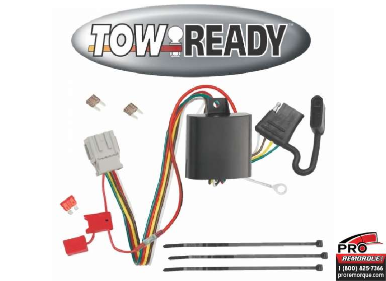 CEQUENT TOWING 118503 T-CONNECTEUR ACURA ZDX 2010-13