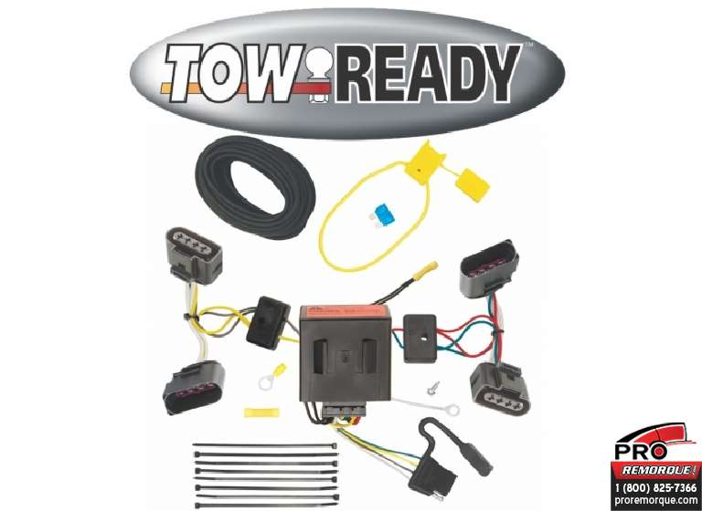 CEQUENT TOWING 118509 T-CONECTEUR, TOUAREG 2004-10