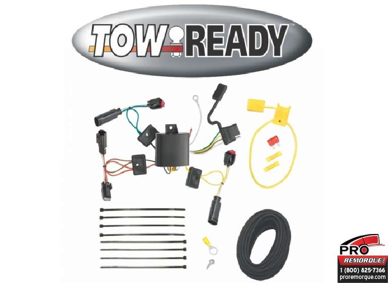 CEQUENT TOWING 118543 T-CONECTEUR, MKZ 2010-2012