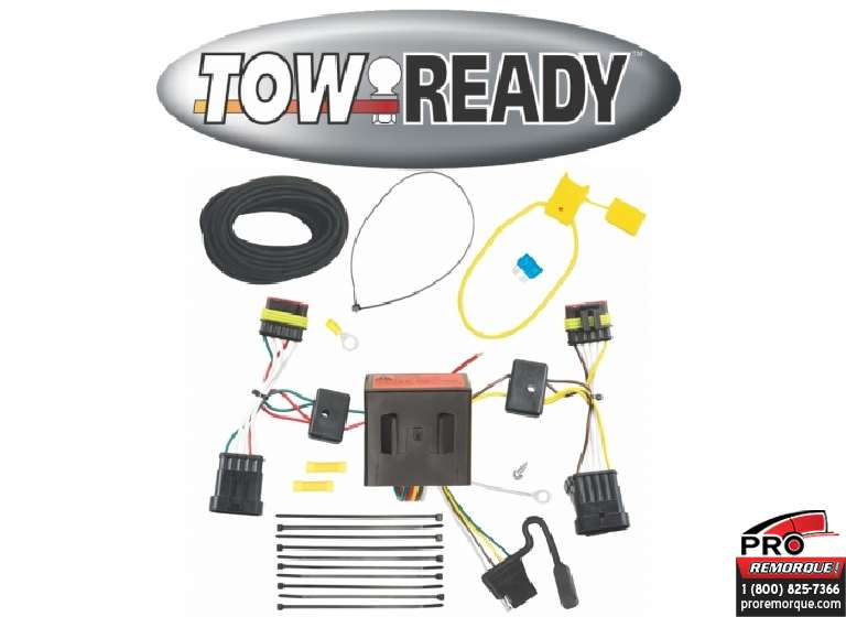 CEQUENT TOWING 118546 T-CONNECTEUR, FIAT 500,2012-19