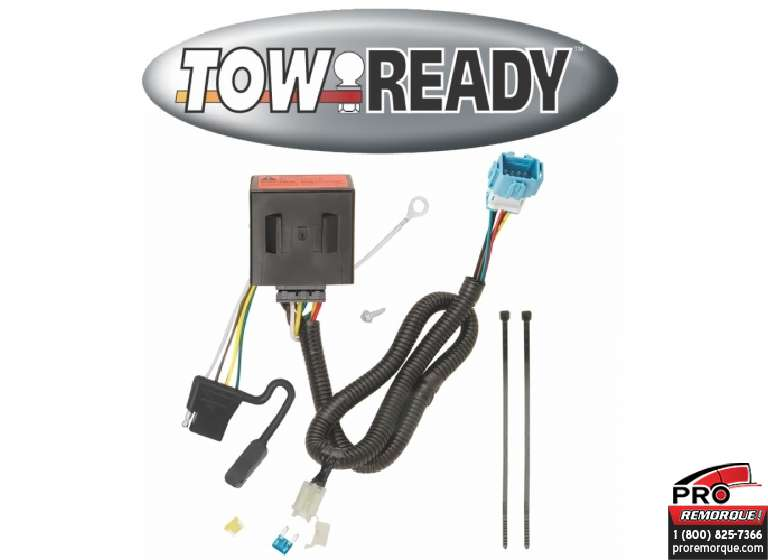 CEQUENT TOWING 118569 T-CONNECTEUR,ACURA RDX 2013-18