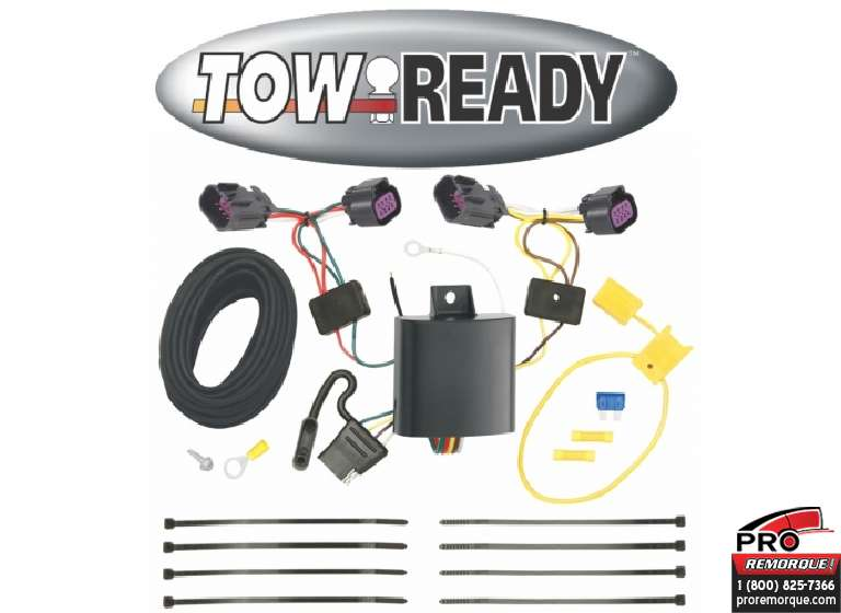 CEQUENT TOWING 118618 T-CONN.,RAM PROMASTER 2014-19