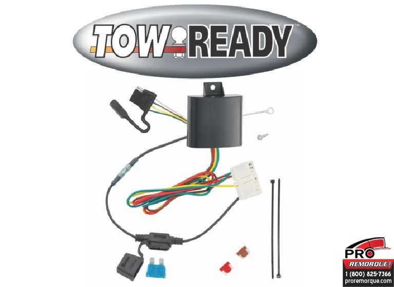 CEQUENT TOWING 118628 T-CONNECTEUR, ACURA MDX 14-20