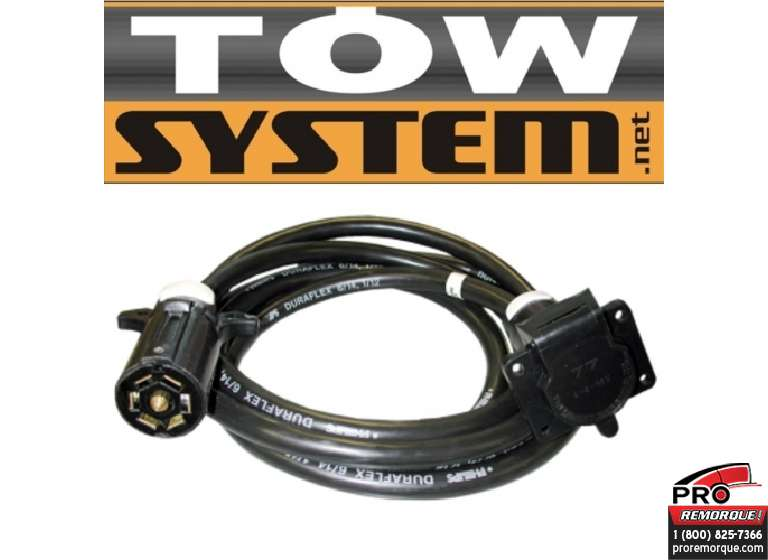 TOW SYSTEM 118664 EXTENSION 7 BRINS MALE/FEM.7'