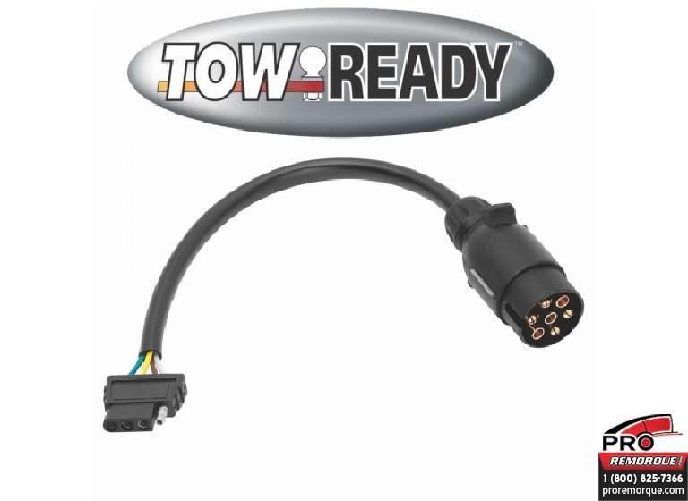 CEQUENT TOWING 118710 ADAPTATEUR 7 EUROPEAN A PLAT