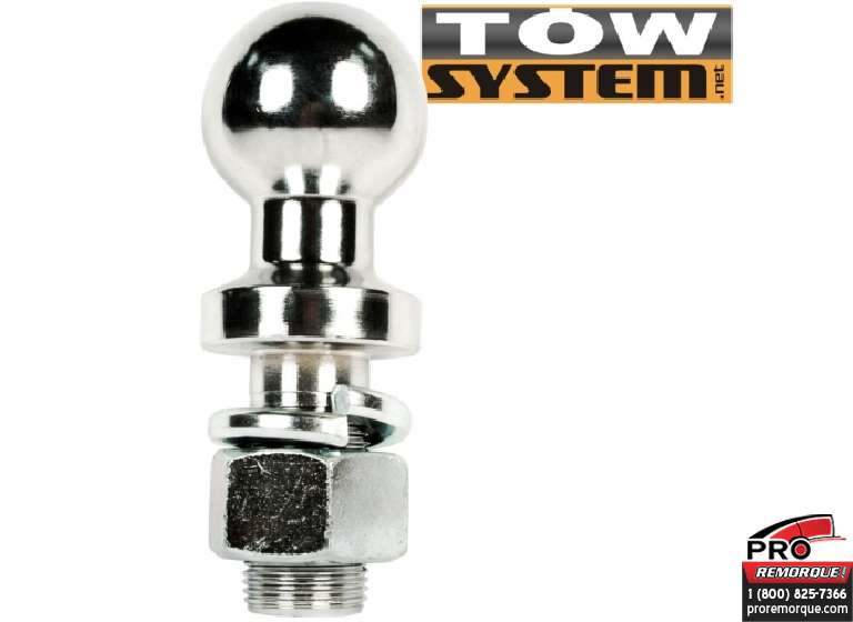 "TOW SYSTEM 19295 BOULE 2 5/16""x1-1/4""E,17000lbs"