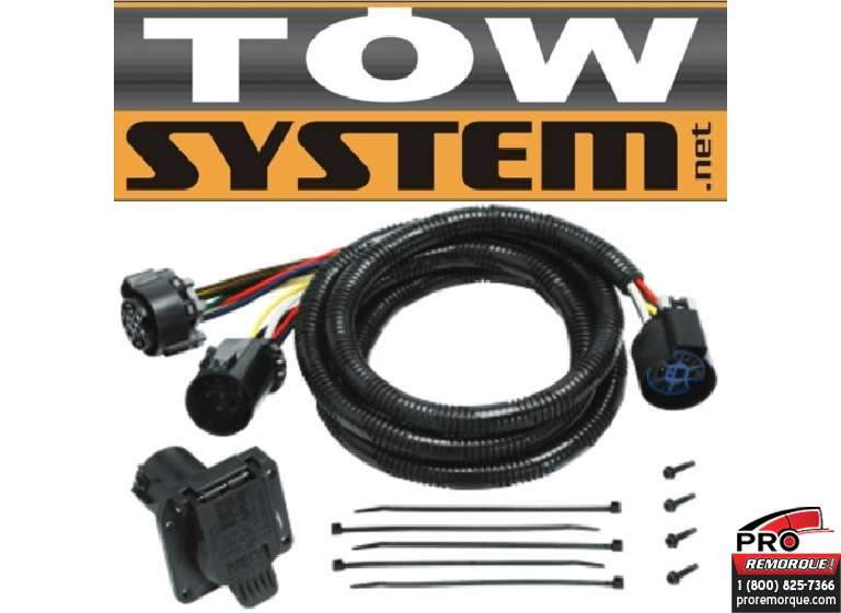 TOW SYSTEM 20110 T-CONN. FORD P.U.,H.D. 99-18