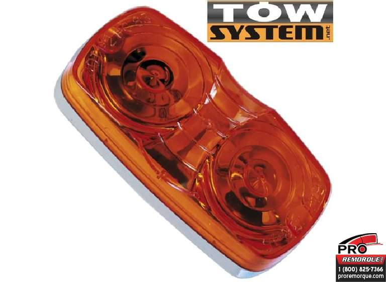 TOW SYSTEM 203A LUMIERE POSITION OVAL JAUNE