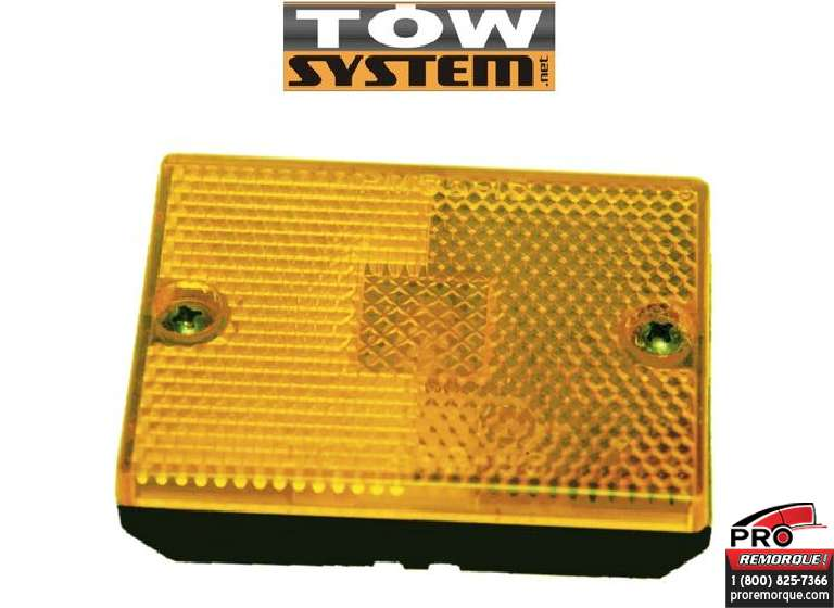 TOW SYSTEM 210R LUMIERE REFLECTEUR RECT.ROUGE