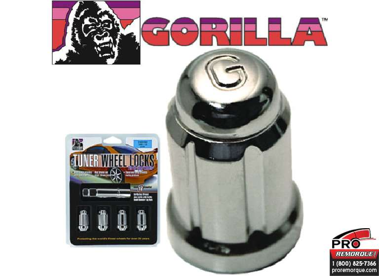 21631SD GORILLA ANTIVOL 12 MM X 1.50