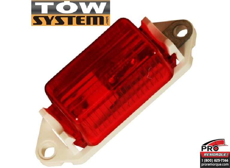 TOW SYSTEM 229R LUMIERE MINIATURE ROUGE