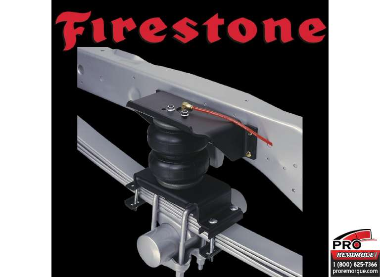 2560 FIRESTONE RAM 3500,4WD,2013-18						(SYSTEME DE SUSPENSION) 													 							Temps d'installation approx. :  2.00 HH.mm