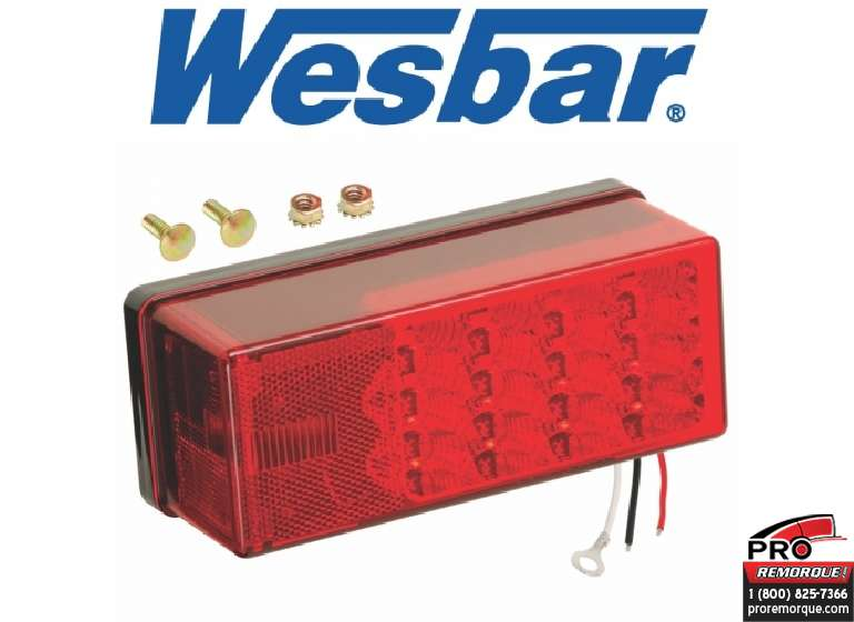 CEQUENT TOWING 271575 LUM.LED SUBMERS.WESBAR GAUCHE