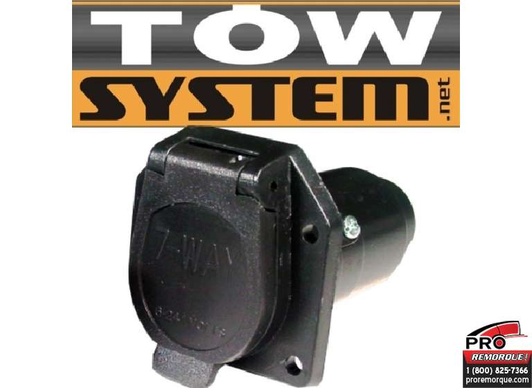 TOW SYSTEM 30300-12 CONNECT.7BR,PLAST.(AUTO),PQT12