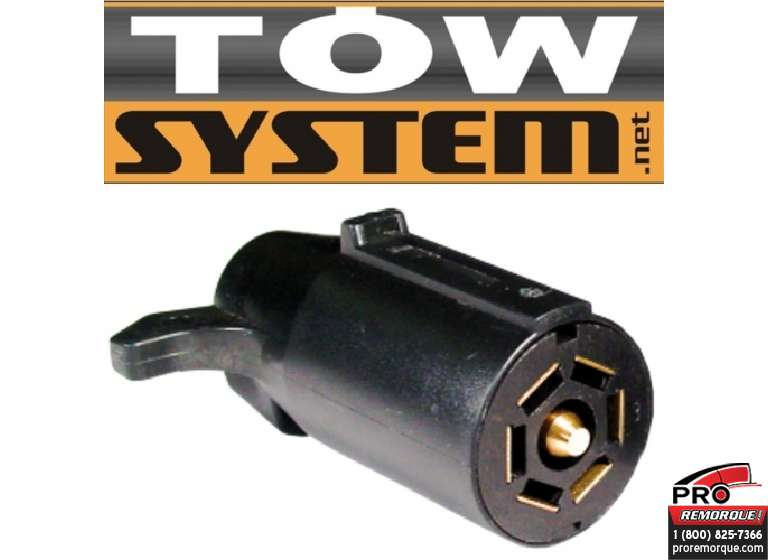 TOW SYSTEM 30305-50 CONNECT.7BR,PLAST.REMORQ,PQT50