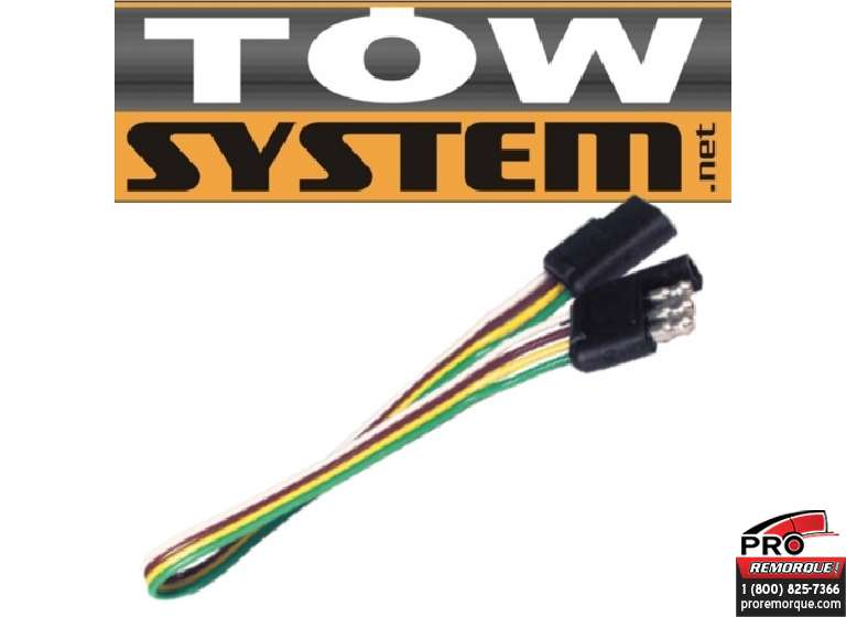 TOW SYSTEM 32424 INVERSEUR 4 BRIN PLAT,1'LONG