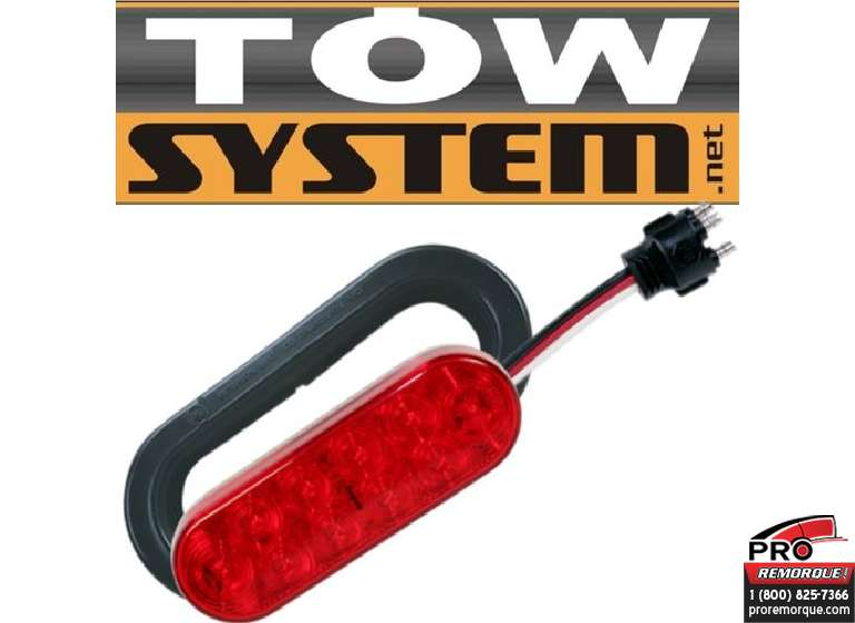TOW SYSTEM 348KB ENS. DE LUMIERE SCELLEE OVAL6""