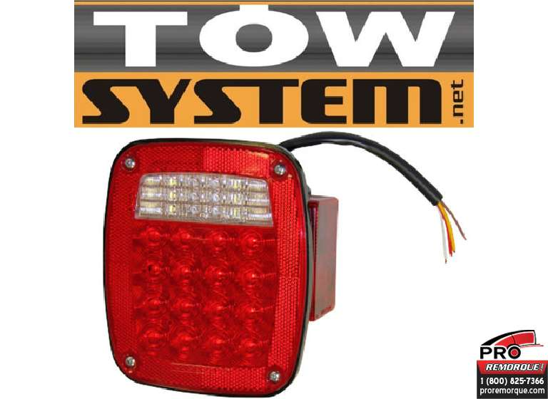 355S-RH LUM.LED /JEEP/6-3/4X6-1/4DROIT