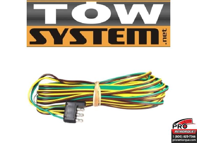 TOW SYSTEM 37522 CONNECT 4BR.,REMORQUE,23'LONG