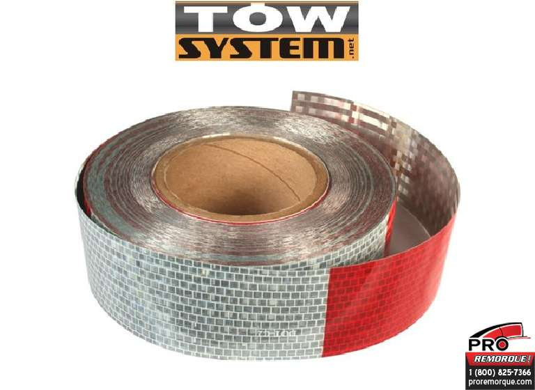"TOW SYSTEM 40650R BANDE REFLECHISSANTE 2""X150'"