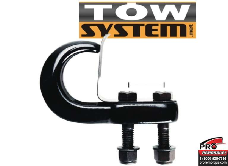 TOW SYSTEM 44021 CROCHET REMORQUAGE CHROME ( 1)