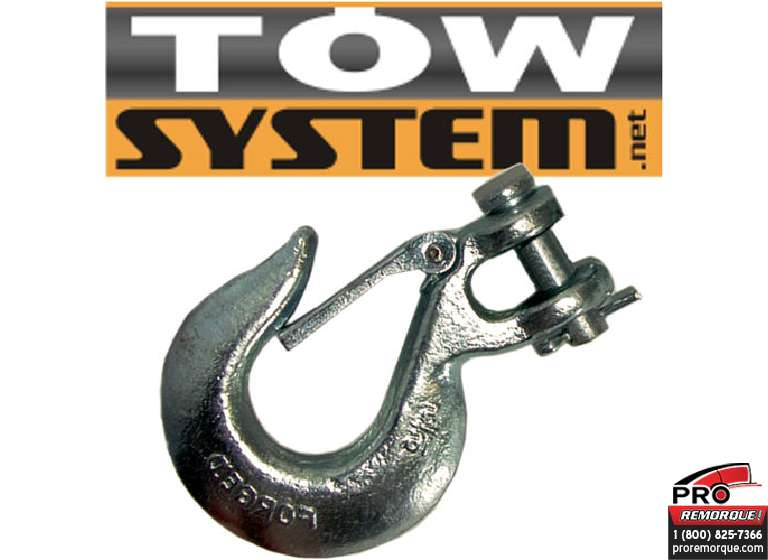 IMPORT/TOWSYSTEM 44164 CROCHET CHAINE SECURITE,3/8""
