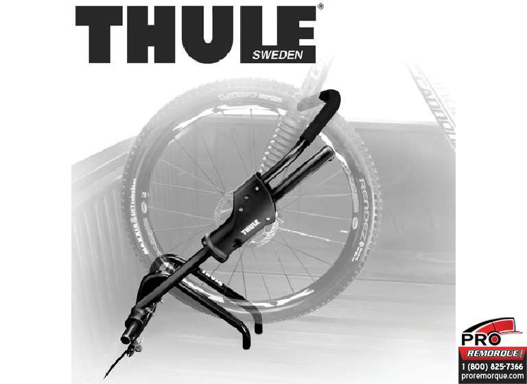 TOW SYSTEM 501 PORTE-VELOS PLANCHER, THULE