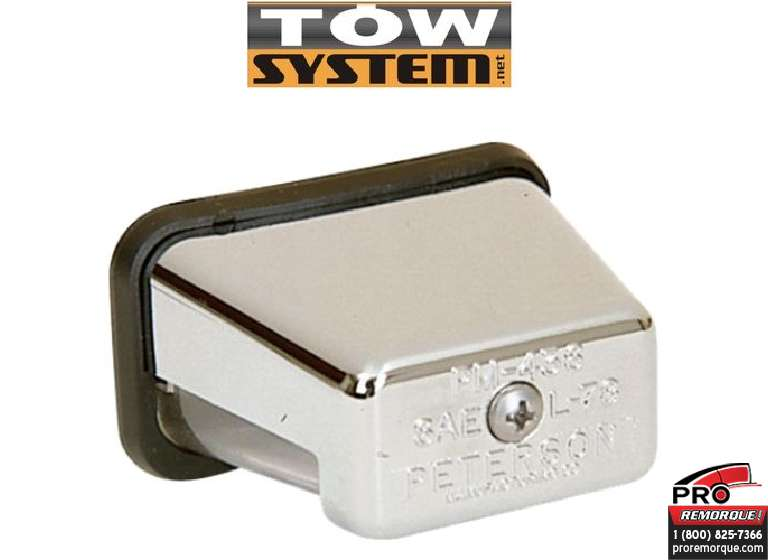 TOW SYSTEM 510 LUMIERE DE PLAQUE CHROME