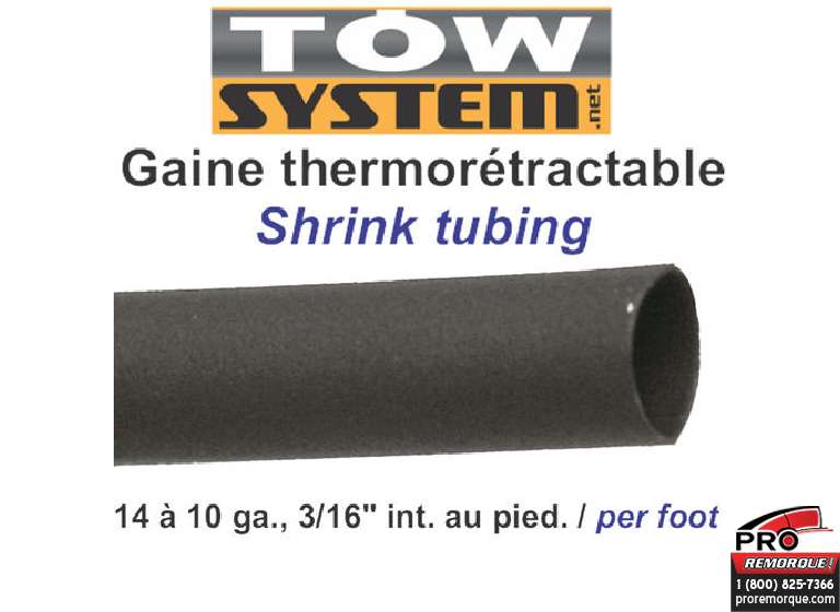 "5666 GAINE THERMO,3/16"",14-10G,PIED"