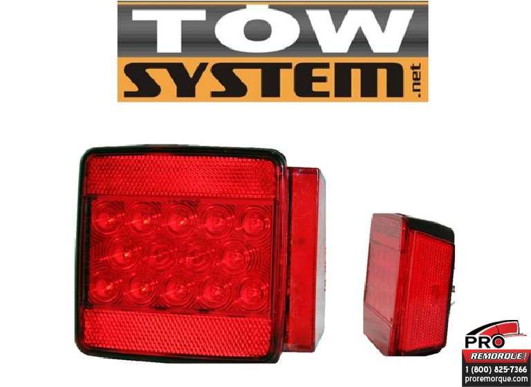 TOW SYSTEM 620L LUMIERE REM.SUBMER.14LED,GAUCH