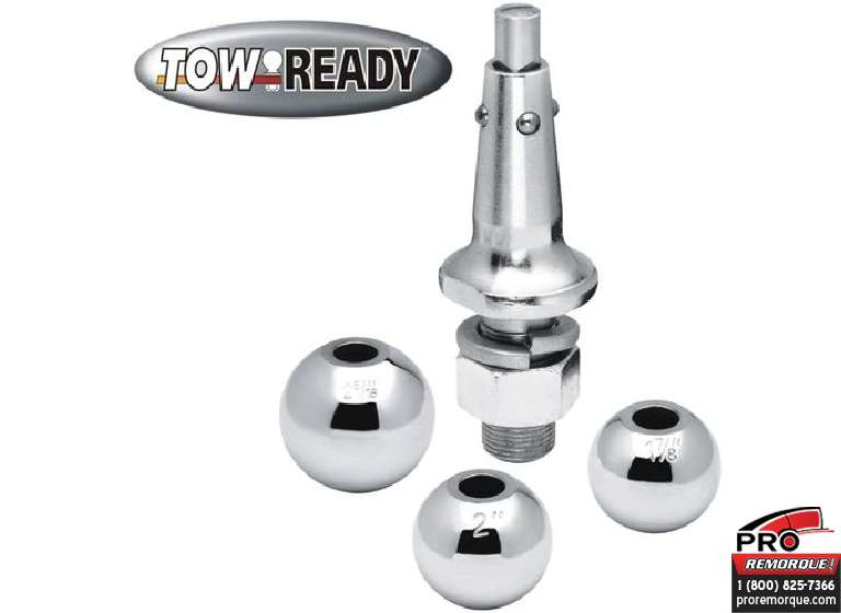 "CEQUENT TOWING 63802 BOULE INTERCH.1-7/8 & 2"", 1"""