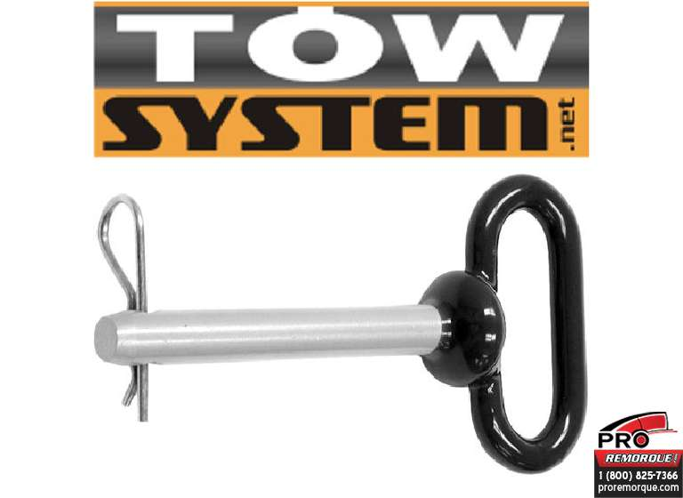 "IMPORT/TOWSYSTEM 66101 PINE & CLIPS 1/2""X 4""(POIGNEE)"