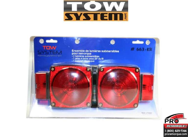 TOW SYSTEM 663KR ENS.LUMIERE SUBMERSIBLE