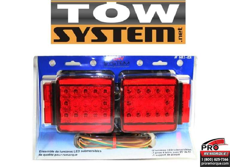 TOW SYSTEM 681KR ENS.LUMIERE LED SUBMERSIBLE